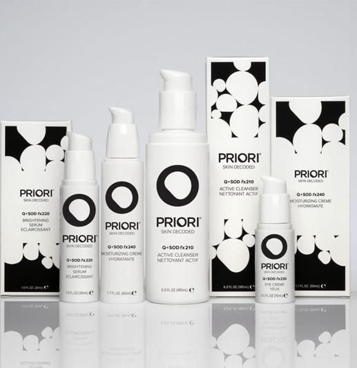 Finn ditt hudprogram fra Priori