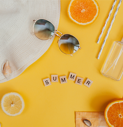 Bruk c-vitamin under solkrem