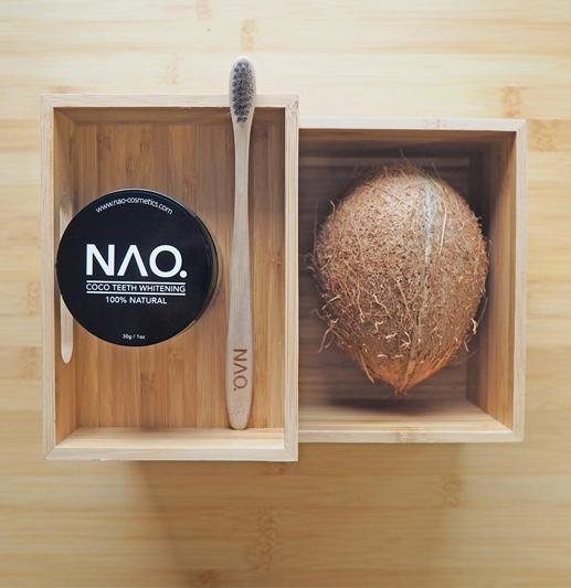 Nao Cosmetics – Naturlig hvitere tenner!