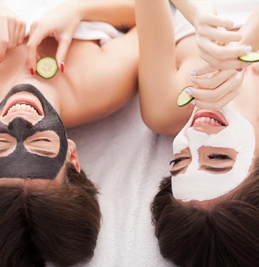 Perfekte after-sun masker